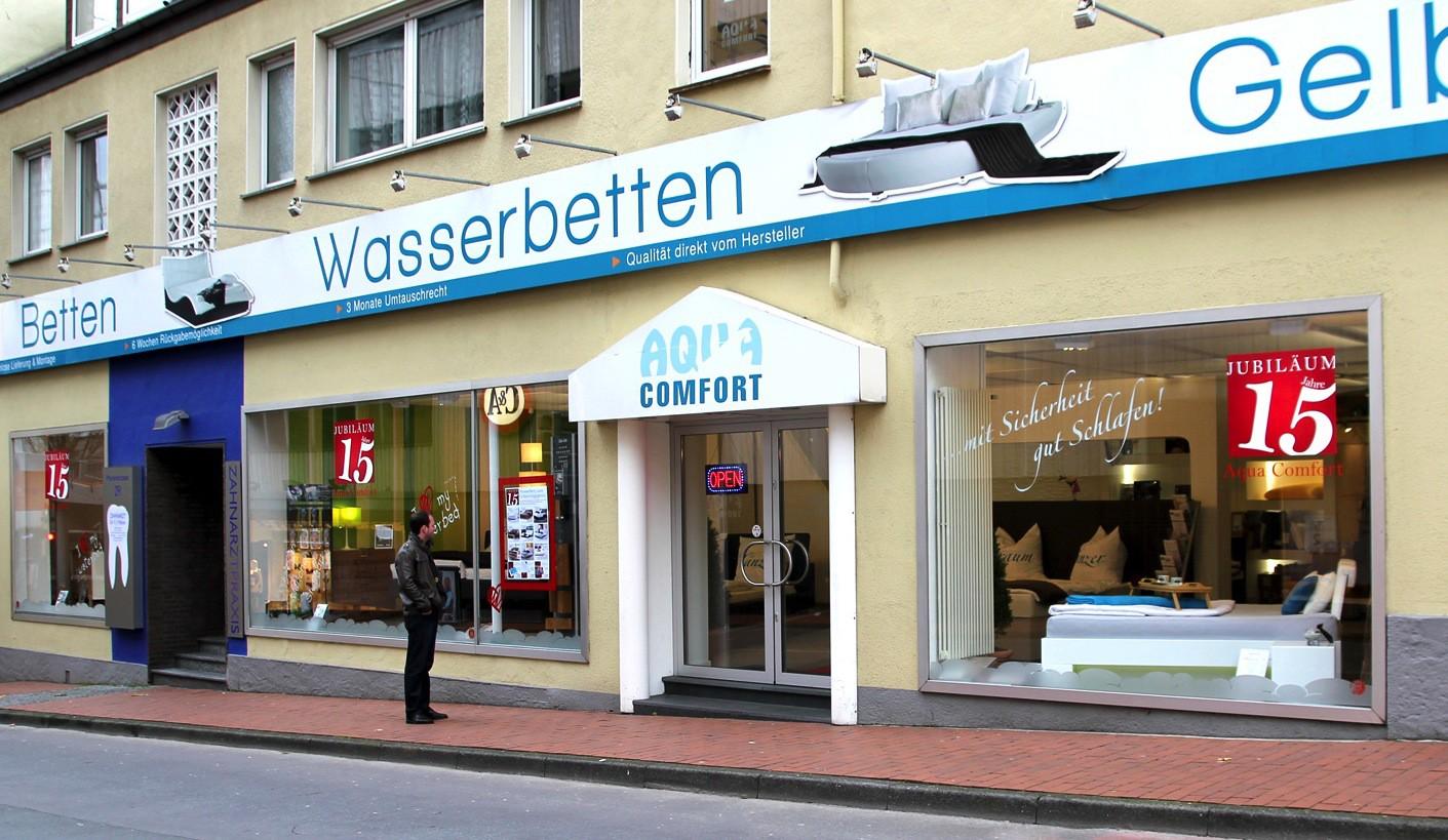 Aqua-Comfort Wasserbetten Paderborn Filiale