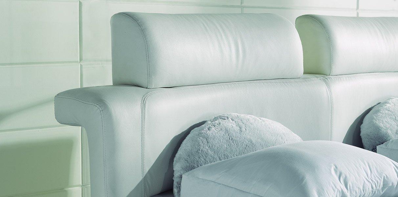 paladin polsterbett aus leder mit echtleder kopfteil. Black Bedroom Furniture Sets. Home Design Ideas