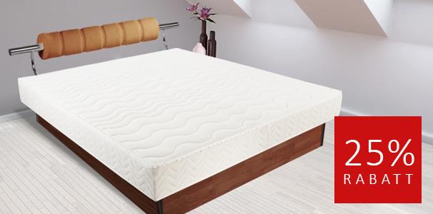 angebot dual wasserbett classic mit kopfteil in 200x200cm kaufen. Black Bedroom Furniture Sets. Home Design Ideas