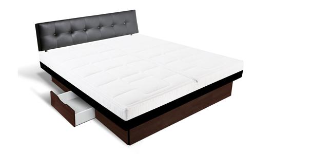 dual softside split wasserbett freistehend online kaufen aqua comfort. Black Bedroom Furniture Sets. Home Design Ideas