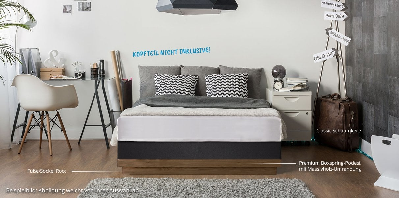 boxspring wasserbett dual online kaufen bei aqua comfort. Black Bedroom Furniture Sets. Home Design Ideas