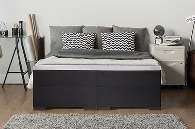 altana wasserbett kunstleder wei mit schubladen online kaufen. Black Bedroom Furniture Sets. Home Design Ideas
