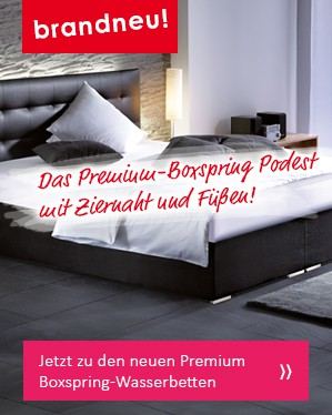 ... Wasserbetten In Boxspringbett Optik   Die Ideale Kombination Aus Einer  Boxspringbett Optik Und Einem Einmaligen Liegeerlebnis