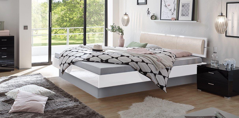 hochglanz wasserbett mit nuetta kopfteil online kaufen aqua comfort. Black Bedroom Furniture Sets. Home Design Ideas