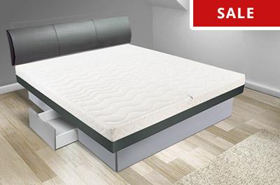 wasserbett ausstellungsst cke aussteller und retouren online kaufen. Black Bedroom Furniture Sets. Home Design Ideas