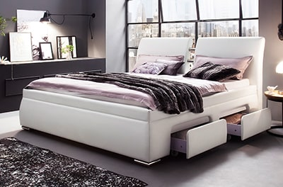 wasserbett silence mit vier schubladen online kaufen. Black Bedroom Furniture Sets. Home Design Ideas