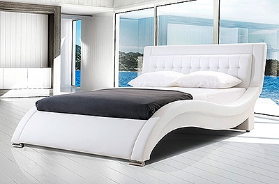 wasserbetten in wei. Black Bedroom Furniture Sets. Home Design Ideas