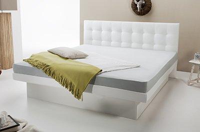 diese split wasserbetten k nnen sie sowohl in einen bettrahmen einbauen als auch freistehend. Black Bedroom Furniture Sets. Home Design Ideas