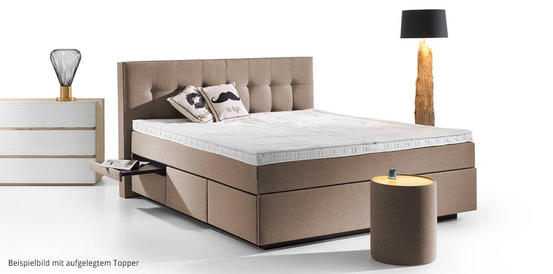 boxspring wasserbett barcelona mit schubladen online kaufen aqua comfort. Black Bedroom Furniture Sets. Home Design Ideas