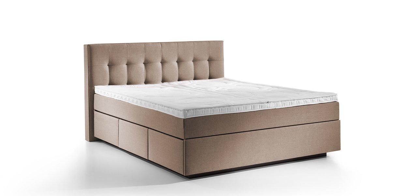 boxspring wasserbett barcelona mit schubladen online. Black Bedroom Furniture Sets. Home Design Ideas