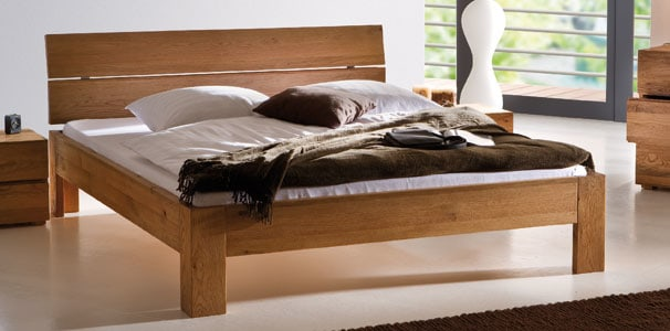 modul bettrahmen oak line von hasena aus massivholz kaufen. Black Bedroom Furniture Sets. Home Design Ideas