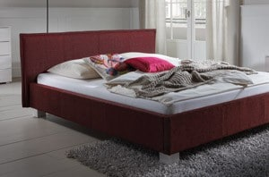 wasserbett mit hasena dream line polsterbett zocco. Black Bedroom Furniture Sets. Home Design Ideas