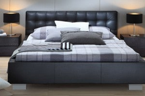 wasserbett mit dream line polsterbett zoja m online kaufen. Black Bedroom Furniture Sets. Home Design Ideas