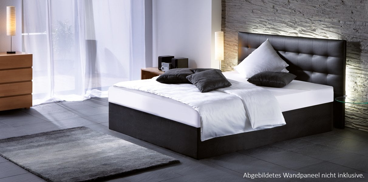 gelbett als boxspring bett kaufen aqua comfort. Black Bedroom Furniture Sets. Home Design Ideas