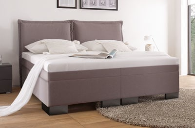 boxspring wasserbett cielo mit split umrandung online kaufen. Black Bedroom Furniture Sets. Home Design Ideas