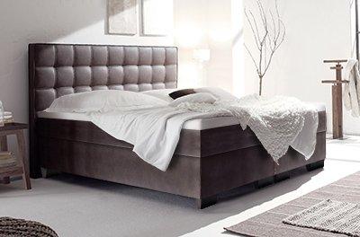 boxspring wasserbett mit lille xl classic kopfteil kaufen. Black Bedroom Furniture Sets. Home Design Ideas