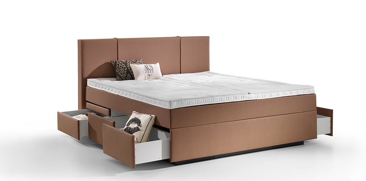 boxspring wasserbett valencia mit schubladen online kaufen aqua comfort. Black Bedroom Furniture Sets. Home Design Ideas