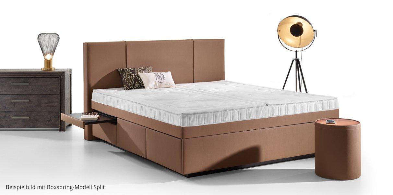 boxspring wasserbett valencia mit schubladen online kaufen aqua comfort. Black Bedroom Furniture Sets. Home Design Ideas