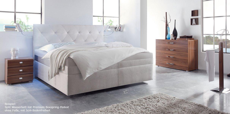 boxspring wasserbett mit paris xl kopfteil kaufen. Black Bedroom Furniture Sets. Home Design Ideas