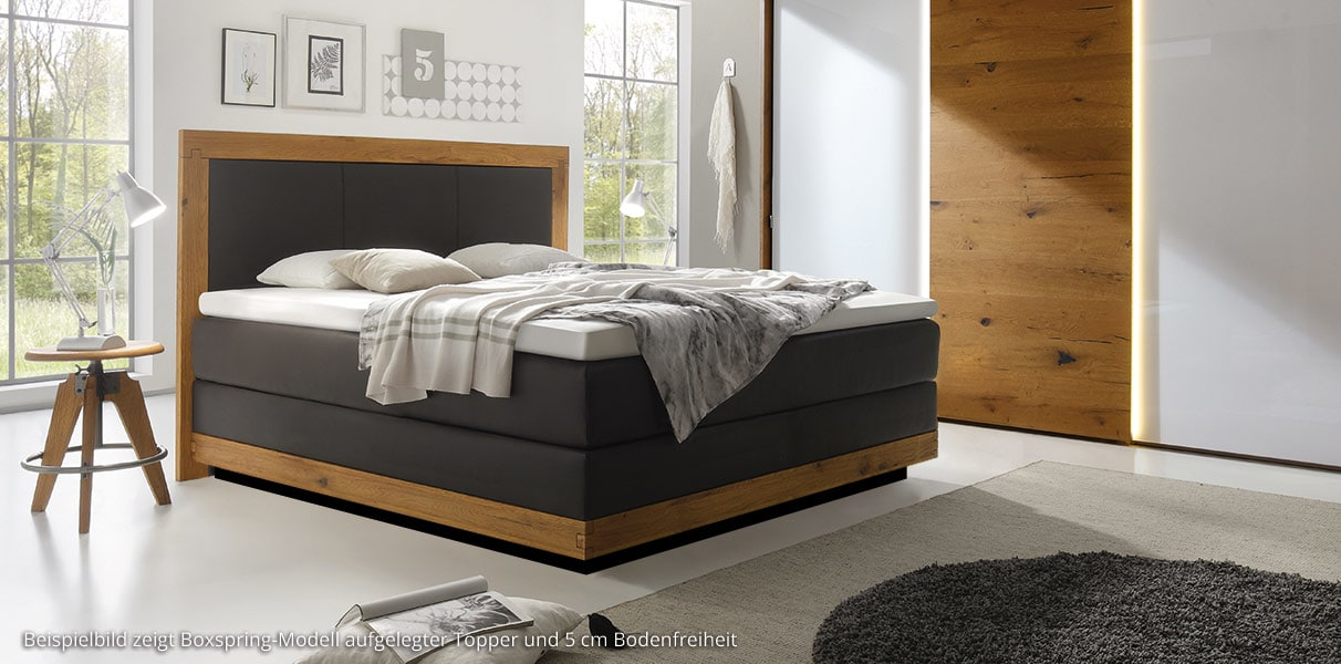 boxspring wasserbett st moritz massiva online kaufen. Black Bedroom Furniture Sets. Home Design Ideas