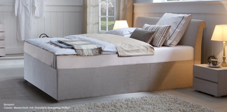 Boxspring-Wasserbett mit Zamo Kopfteil online kaufen - Aqua Comfort