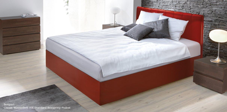 boxspring wasserbett mit zibi kopfteil online kaufen aqua comfort. Black Bedroom Furniture Sets. Home Design Ideas