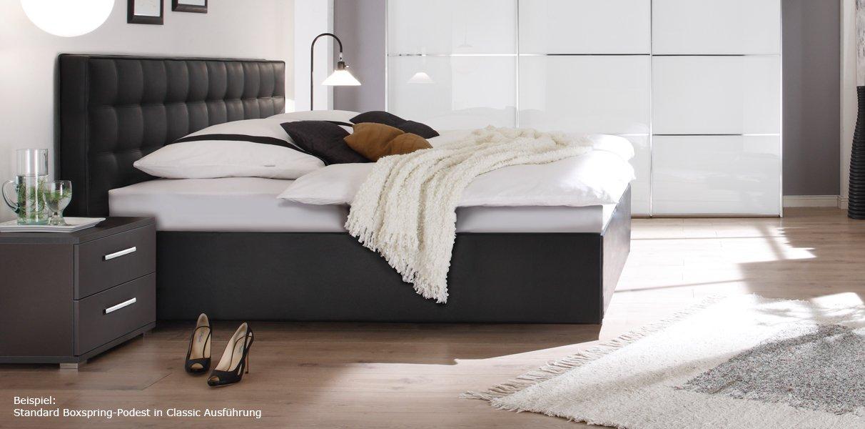 Boxspring-Wasserbett mit Zoja L Kopfteil online kaufen - Aqua Comfort