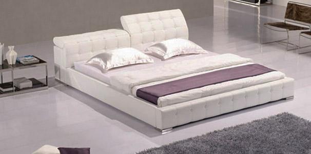 frankfurt lederbett mit echtleder kopfteil online kaufen aqua comfort. Black Bedroom Furniture Sets. Home Design Ideas