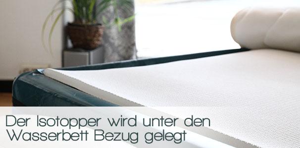 isotopper f r gelbetten ohne heizung online kaufen aqua comfort. Black Bedroom Furniture Sets. Home Design Ideas