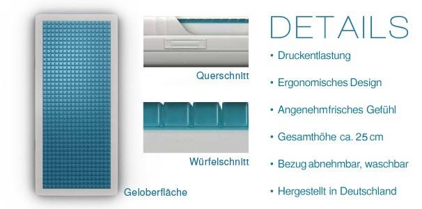 technogel die neue generation des schlafes aqua comfort. Black Bedroom Furniture Sets. Home Design Ideas