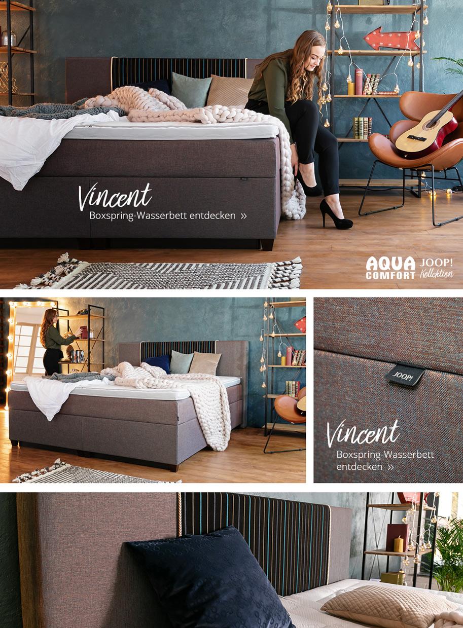 joop wasserbetten kollektion online erkunden kaufen. Black Bedroom Furniture Sets. Home Design Ideas