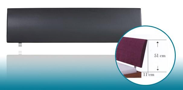 lecco polster kopfteil kunstleder soft line von hasena online kaufen. Black Bedroom Furniture Sets. Home Design Ideas