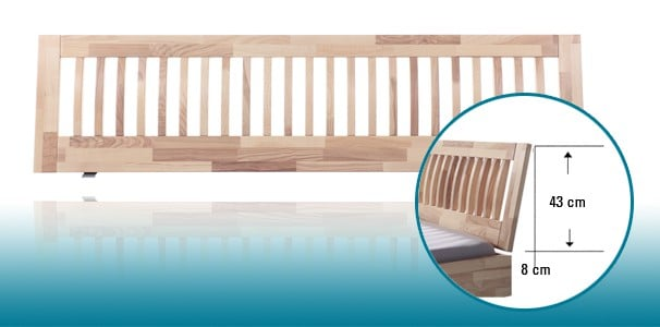 stecca kopfteil massivholz woodline von hasena online kaufen. Black Bedroom Furniture Sets. Home Design Ideas