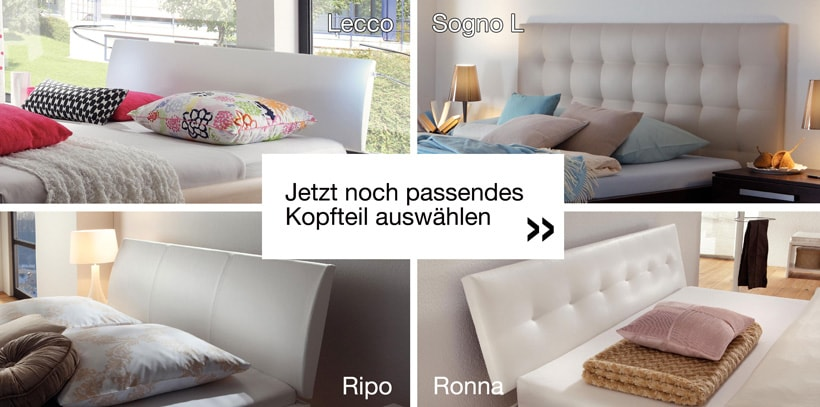 braucht man ein kopfteil am wasserbett. Black Bedroom Furniture Sets. Home Design Ideas