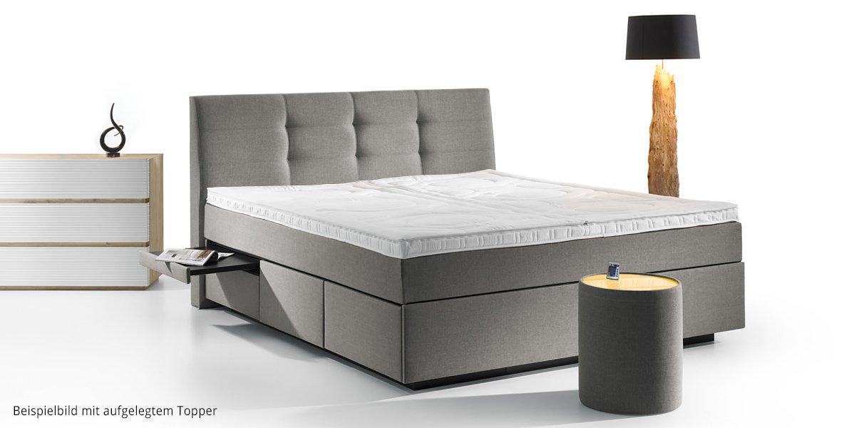 boxspring wasserbett madrid mit schubladen online kaufen aqua comfort. Black Bedroom Furniture Sets. Home Design Ideas