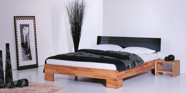 Reduziert Massivholz Bett Buche Natur Aqua Comfort