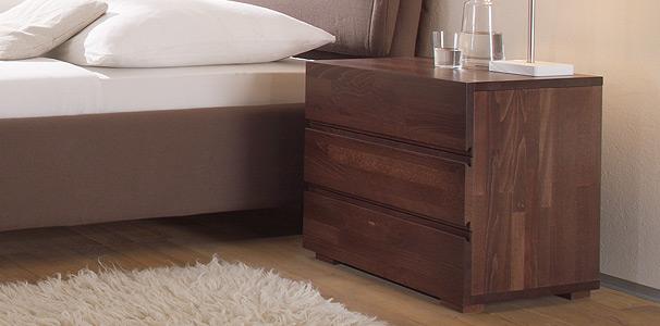 treva nachttisch woodline von hasena aus buche kaufen aqua comfort. Black Bedroom Furniture Sets. Home Design Ideas