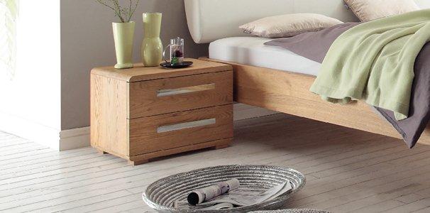 Noma Nachttisch Oak Bianco Von Hasena Online Kaufen Aqua Comfort