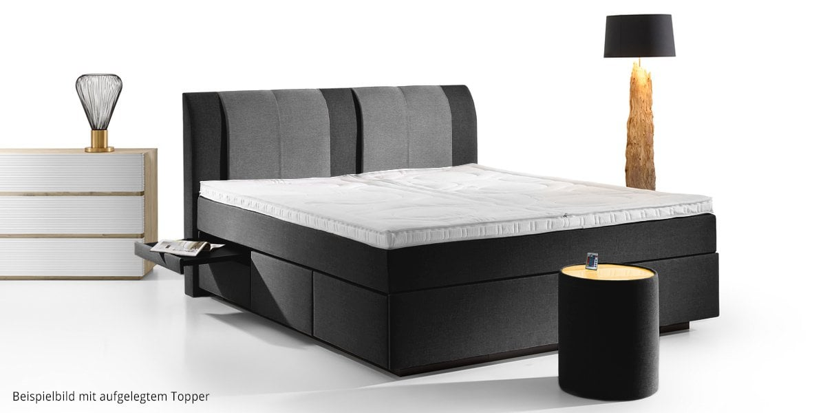 pamplona boxspring wasserbett mit schubladen online kaufen aqua comfort. Black Bedroom Furniture Sets. Home Design Ideas