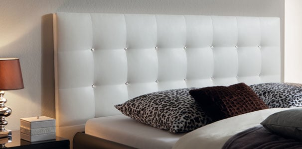 sogno l swarovski wandpaneel kunstleder soft line von hasena kaufen. Black Bedroom Furniture Sets. Home Design Ideas