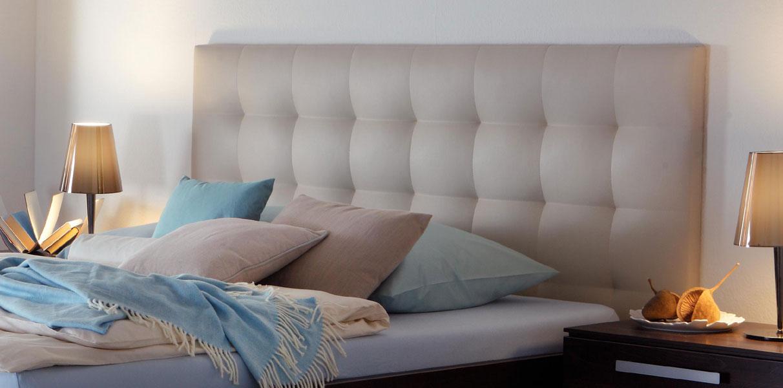 sogno l wandpaneel polster kunstleder soft line von hasena. Black Bedroom Furniture Sets. Home Design Ideas