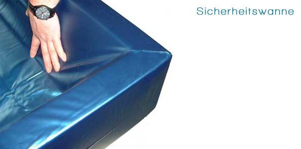sicherheitswanne f r softside wasserbetten online kaufen aqua comfort. Black Bedroom Furniture Sets. Home Design Ideas