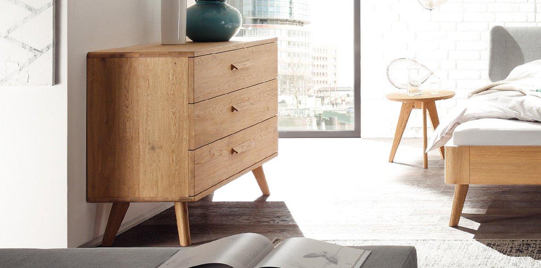 sigma kommode oak bianco von hasena online kaufen aqua. Black Bedroom Furniture Sets. Home Design Ideas