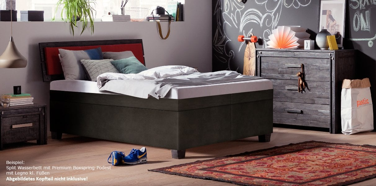 boxspring 90x200 good krate single size bed single beds karpenter with boxspring 90x200. Black Bedroom Furniture Sets. Home Design Ideas