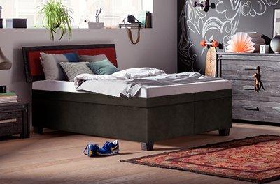 Solo Wasserbetten komplett mit einer Wassermatratze und einer Wasserbett-Heizung: dadurch eine Temperatur und Beruhigungsstufe im gesamten Bett.