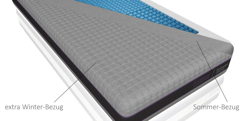 technogel gel matratze estasi online kaufen bei aqua comfort. Black Bedroom Furniture Sets. Home Design Ideas
