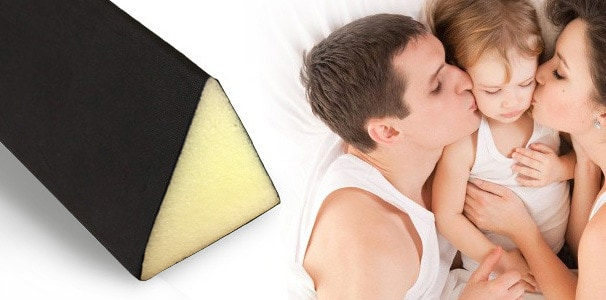 visco trennkeil f r duale wasserbetten online kaufen aqua comfort. Black Bedroom Furniture Sets. Home Design Ideas