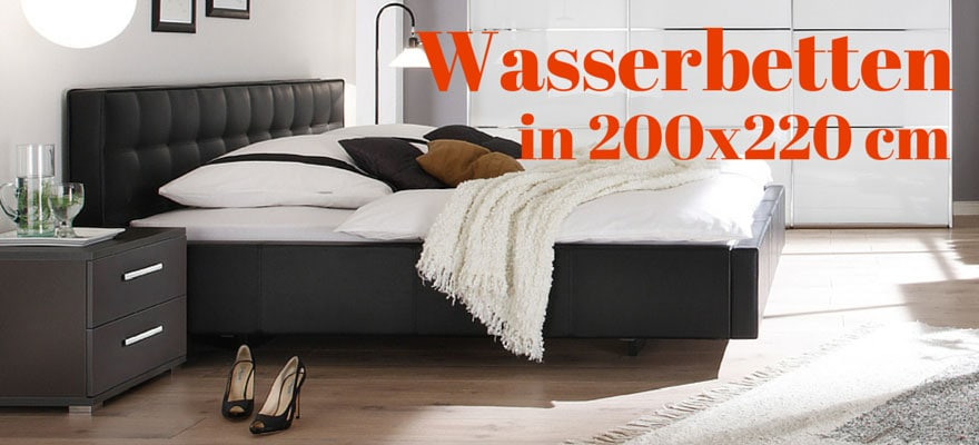wasserbett 200x220 cm online kaufen bei aqua comfort. Black Bedroom Furniture Sets. Home Design Ideas
