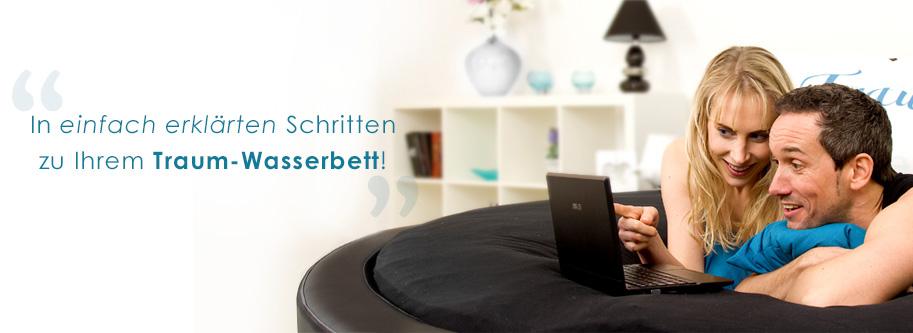 wasserbett konfigurator aqua comfort. Black Bedroom Furniture Sets. Home Design Ideas