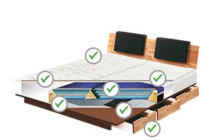 wasserbett kaufen wasserbetten online kaufen 100 tage testen. Black Bedroom Furniture Sets. Home Design Ideas